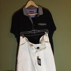 "Nike golf shorts 38"" white NWT"